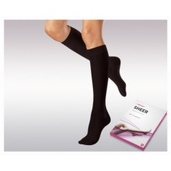 Knee-high thin compression socks (2 Ccl.) VENOSAN