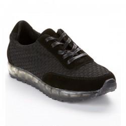 Bernie Mev Gel Sneaker Black