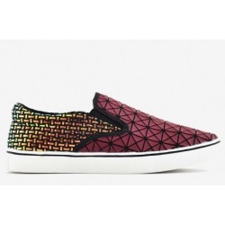 Bernie Mev Verona Web Plasma/Burgundy shoes 36-41.