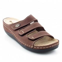 INBLU LF-11 Brown slippers