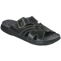 INBLU black DX-19 Black slippers