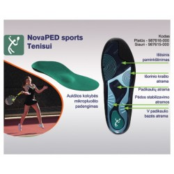 NovaPED sports Racket insoles