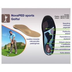 NovaPED sports Golf insoles